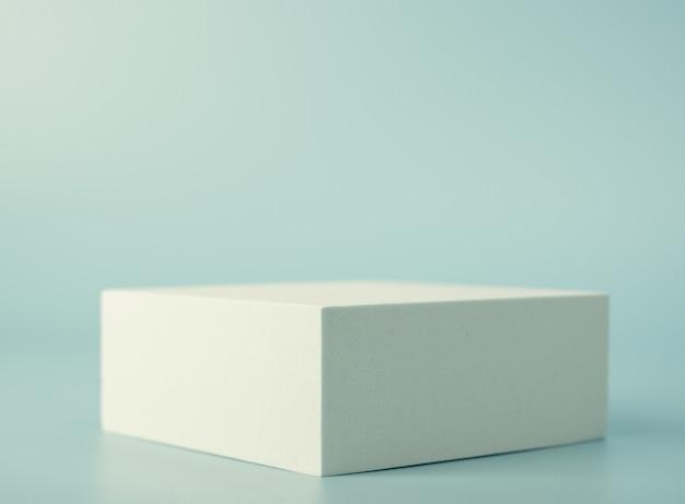 제품 발표를위한 직사각형 연단