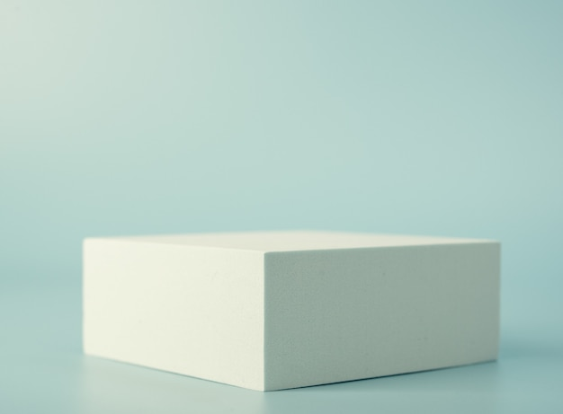 Rectangular podium for product presentation