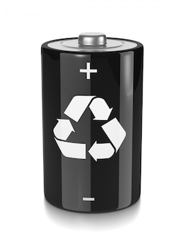 Recycle electric battery