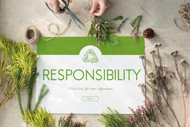 Riciclo ambientale conservazione natura ecologia