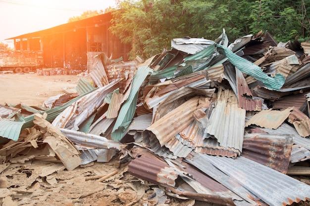 재활용 공장 풍경