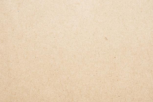 クラフト紙段ボール表面テクスチャ背景をリサイクル