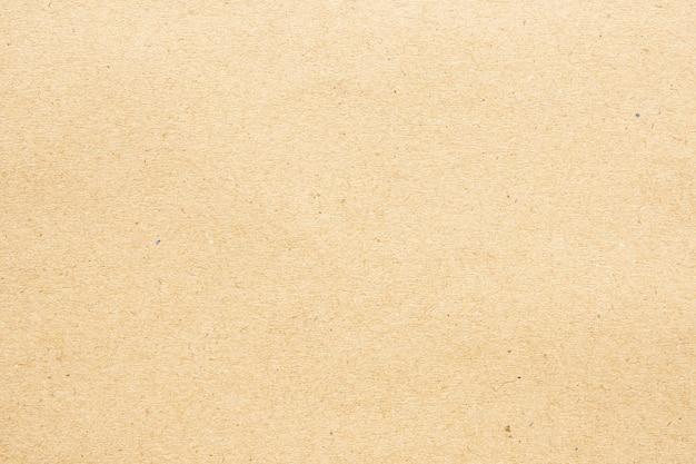 Переработка крафт-бумаги картона поверхности текстуры фона