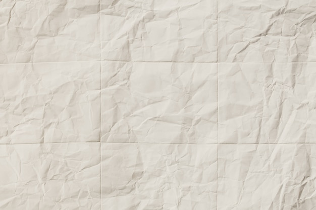 Recycle white paper crumpled texture, abstract grey paper wrinkled for background