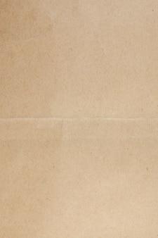リサイクルされた茶色の紙の背景。