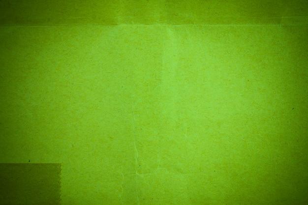 リサイクルされた緑の紙の背景。