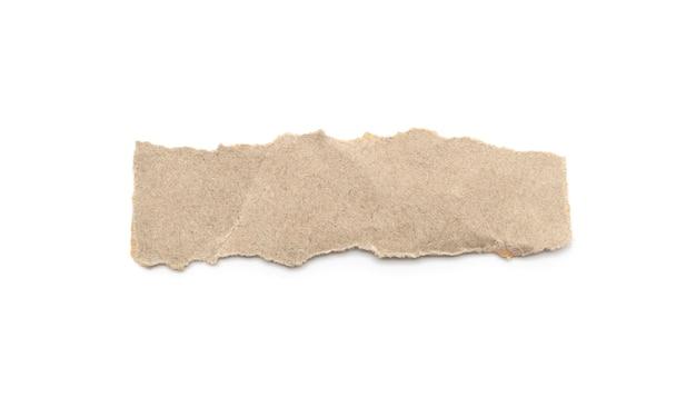 Рециркулированная бумажная ручка корабля на белой предпосылке.