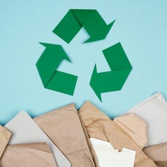 リサイクルコンセプトフラットレイ