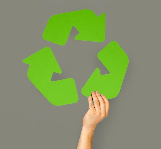 リサイクル環境汚染サイン