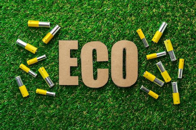 Утилизация использованных щелочных батарей экологическая концепция