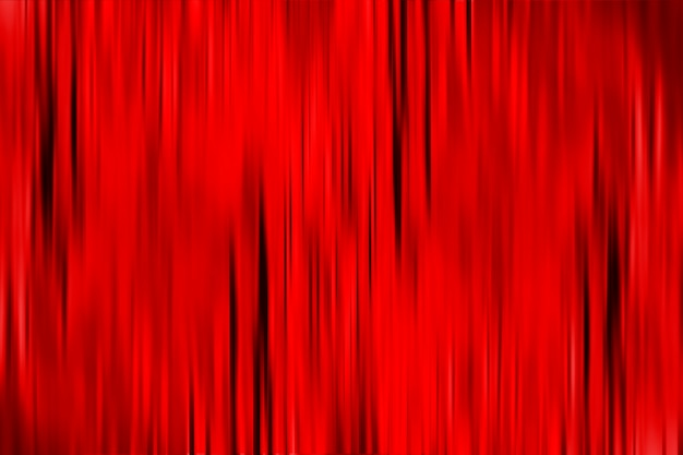 Red abstract background with black vertical motion blur lines. textured red curtain backdrop