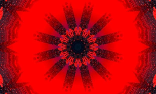 赤抽象的な色技術の背景、コンピューター技術ビジネスの背景。