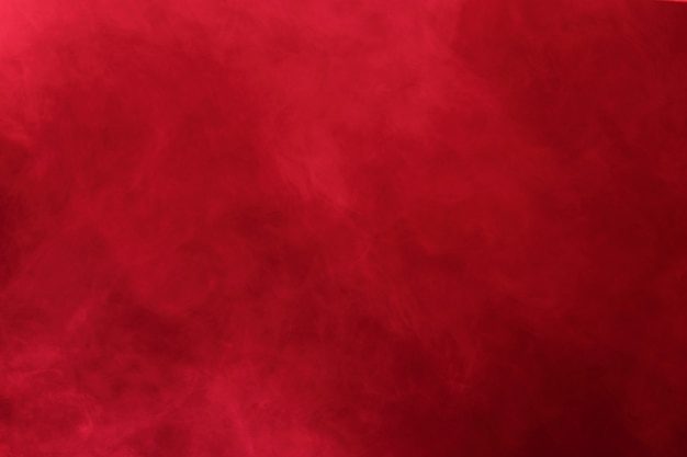 Red abstract smoke clouds, all movement blurred background, intention out of focus