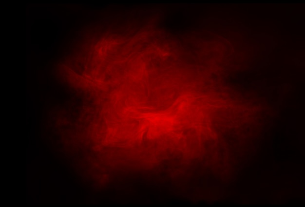 Red abstract smoky background