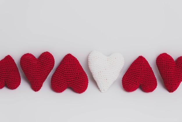 Красные и белые ткани сердца
