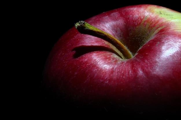 빨간 사과 근접 촬영