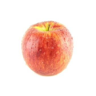 Красное яблоко изолировано