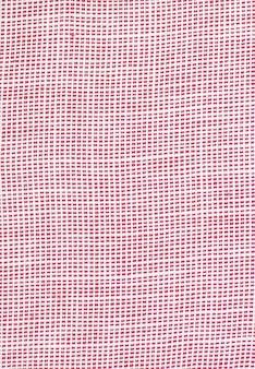 Красный фон из текстуры ткани. пустой. нет рисунка