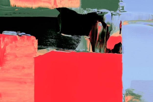 빨간색 배경 벽지, 혼합 색상의 추상 페인트 텍스처