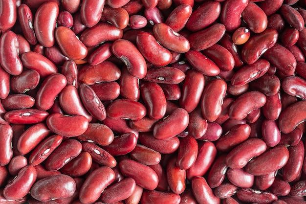 パターンの背景として小豆豆、クローズアップ、上面図