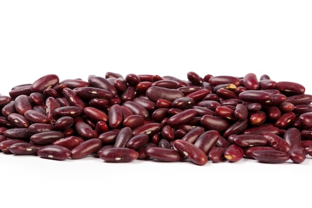 Red bean isolated