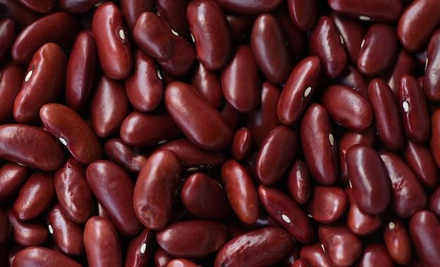 テクスチャ背景に小豆-穀物赤インゲン豆