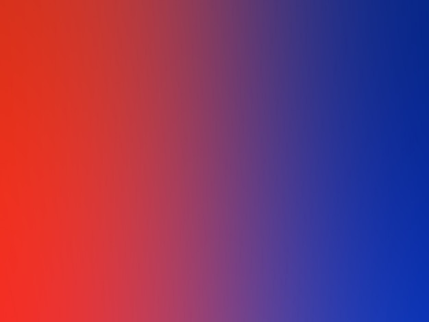 Red and blue color gradient style artwork.