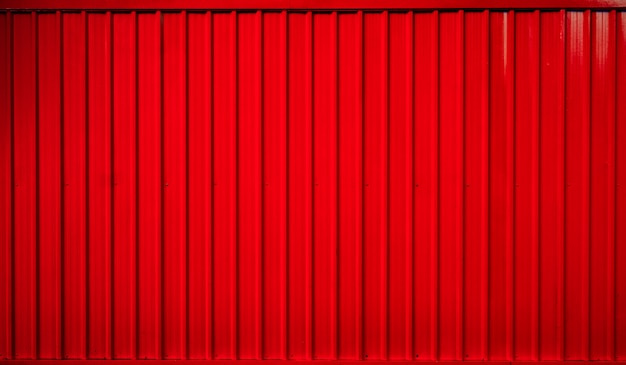 Red box container striped line background