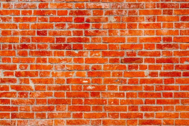 Red brick building wall. interior of a modern loft. background for design