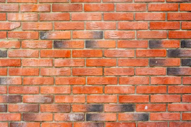 赤レンガの建物の壁。モダンなロフトのインテリア。デザインの背景