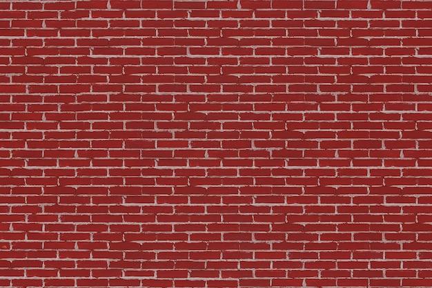 赤レンガの壁の背景テクスチャ極端なクローズアップ。