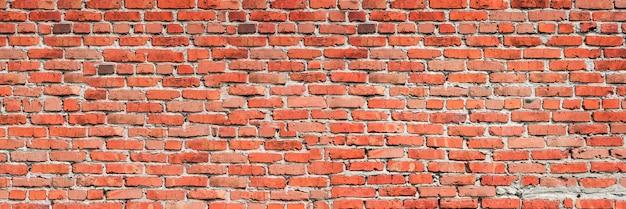 배경에 대 한 붉은 벽돌 벽