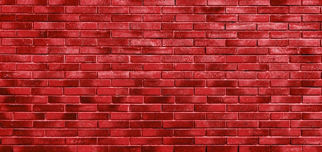 Red brick wall. loft interior design. architectural background.