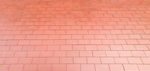 붉은 벽돌 벽 패턴 배경