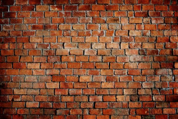 Red brick wall pattern texture