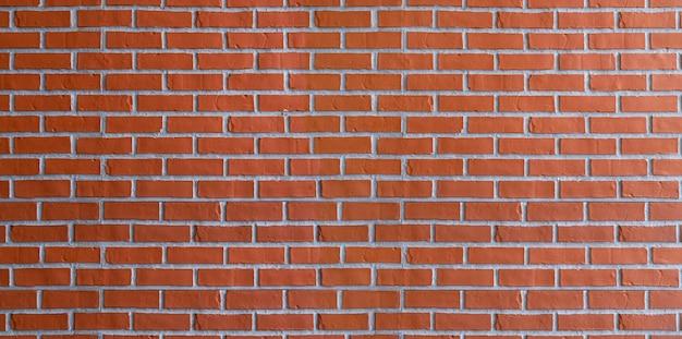 Red brick wall texture pattern
