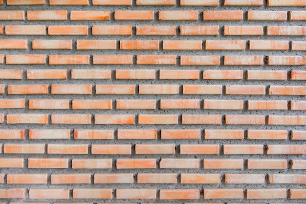 Red brown brick wall texture background.