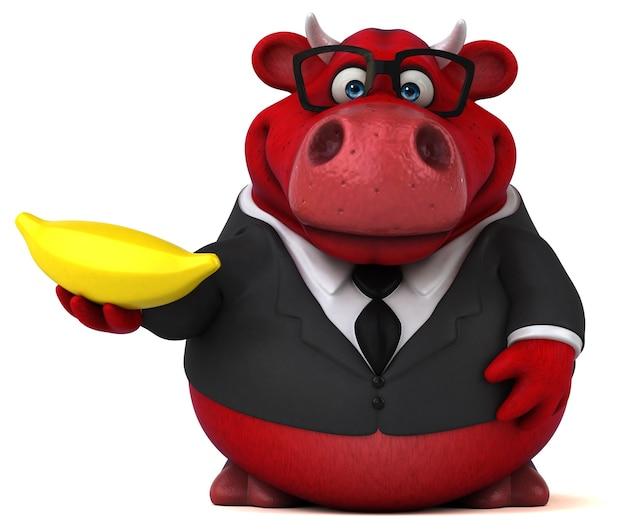 Red bull illustration