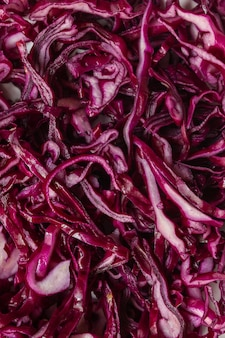Red cabbage, raw vegetables healthy salad (coleslaw, delicious snack or blue cabbage)