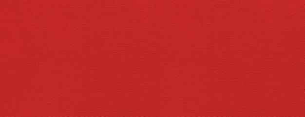 Red canvas texture surface banner