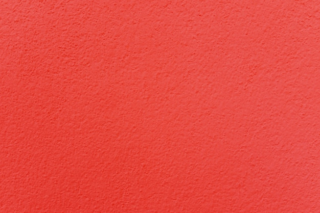 Red cement or concrete wall texture for background