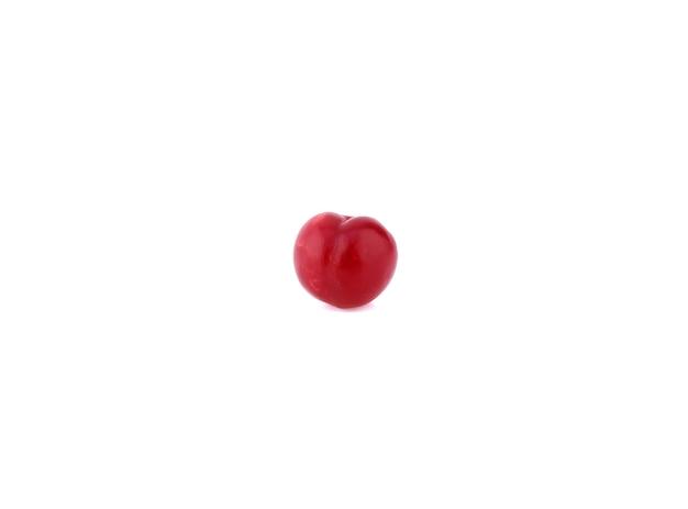 Красная алыча изолированные