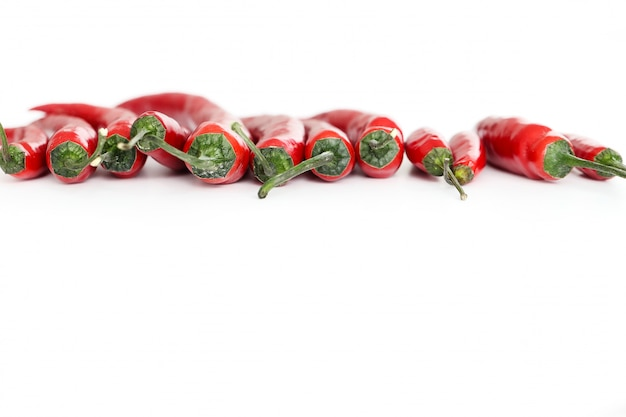 Red chili peppers