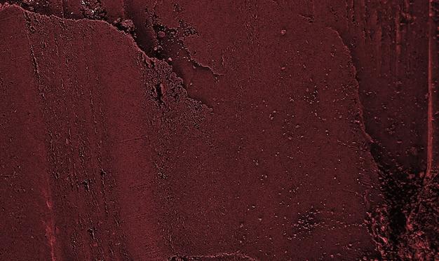 Текстура порошка красной глины. сухая маска из глиняной пудры.