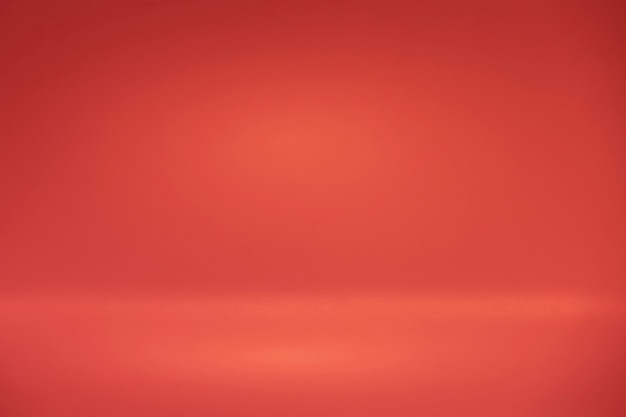 Red color background or backdrop, background for plain text or product