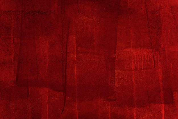 Red concrete background