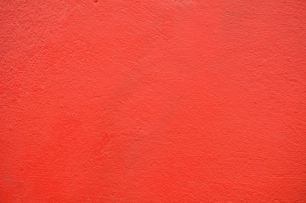 Red concrete wall texture at building