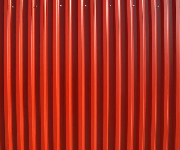 빨간 물결 모양 강철
