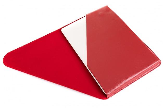 Красный чехол для кредитной карты с безопасностью rfid