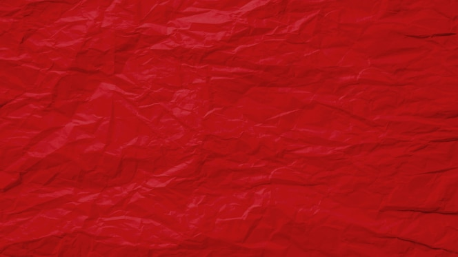 빨간 구겨진 종이 페이지 질감 거친 배경으로 오래 된. 주름 그런 지 양피지 패턴 빈티지 디자인입니다.